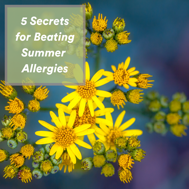 5 Secrets for Beating Summer Allergies, photo of ragweed