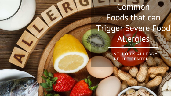 foods that trigger severe food allergies
